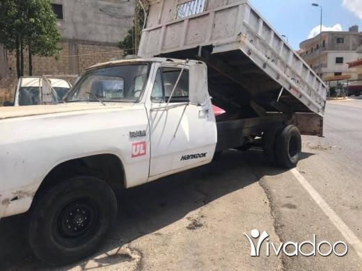 Dodge in Nabatyeh - بيك اب دودج قلاب للبيع