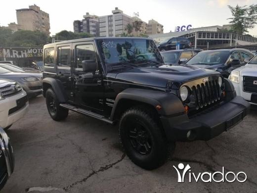 Jeep in Port of Beirut - Wrangler unlimited sport upgrade 2013