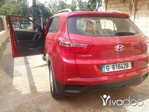 Hyundai in Beirut City - Hyundai Creta 2017