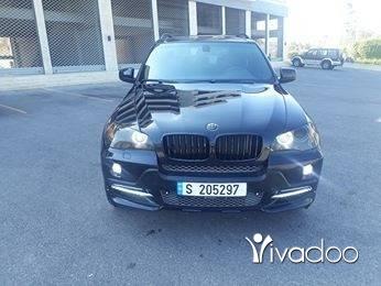 BMW in Saida - رانج x5موديل2007 بالورقة جديد معاينة 2019جنط20اكزنون رينك ستوب شركة لوك2012كلو مختام