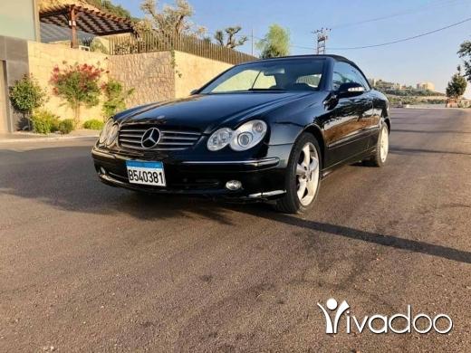 Mercedes-Benz in Beirut City - Mercedes CLK320