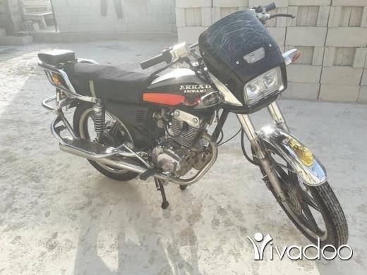 Barossa in Port of Beirut - motorcycle