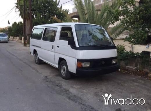 Vans in Nabatyeh - Van nissan urvan model 1999 siye7e 14 rekeb b wra2o ndif