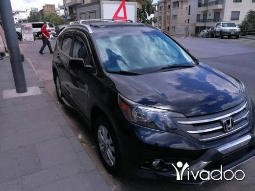 Honda in Beirut City - Crv 2012/4wd/EX أسود قلب اسود