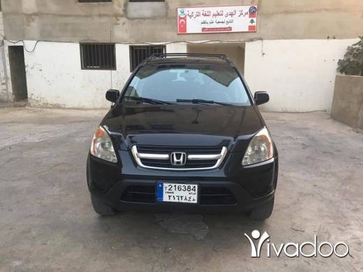 Honda in Beirut City - CRV 2002