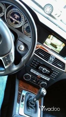Mercedes-Benz in Saida - C300 ajnabeih big screan camera bassmeh look AMG mod 2013 klm 50 alf