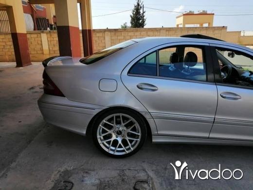 Mercedes-Benz in Tripoli - C320 model 2001