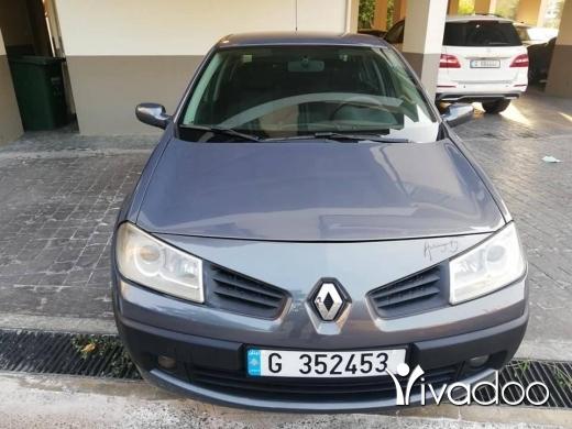 Renault in Ain el-Remmaneh - رينو ميغان موديل ٢٠٠٨