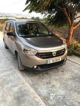 Dacia in Akkar el-Atika - سياره داسيا لودجي 2013بحاله جيده تصلح سياره تكسي أوسياره عائله للتواصل