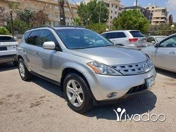 Nissan in Beirut City - 2003 nissan murano. silver on black.