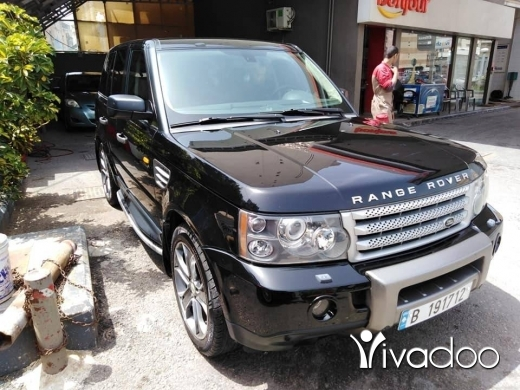 Land Rover in Beirut City - Rang Rover sport HSE