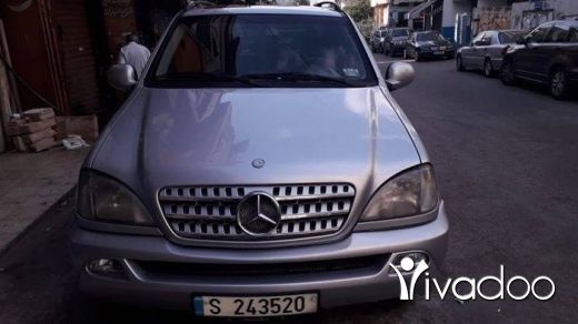 Mercedes-Benz in Beirut City - Ml 320سيارة بيت كيان بعدو شركه موديل ٢٠٠٠ موجود عل طيونه