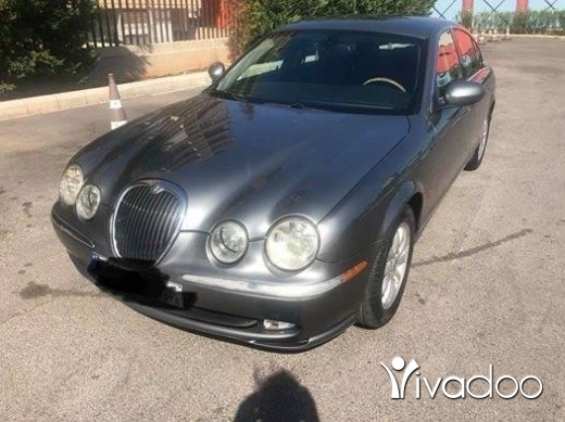 Jaguar in Dbayeh - Jagward new S.Type 2003 grey on black leather super clean full option