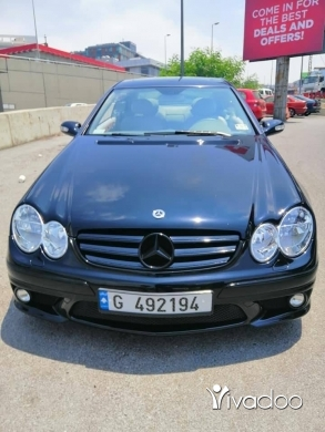 Mercedes-Benz in Nabatyeh - Mercedes CLK 320