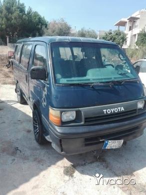 Vans in Nabatyeh - تويوتا مويل 90، خصوصي 14 راكب، موتير مازوت ، انقاض