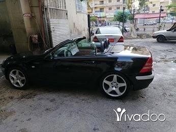 Mercedes-Benz in Tripoli - Mercedes slk model 1998 covertable 4 cylinder