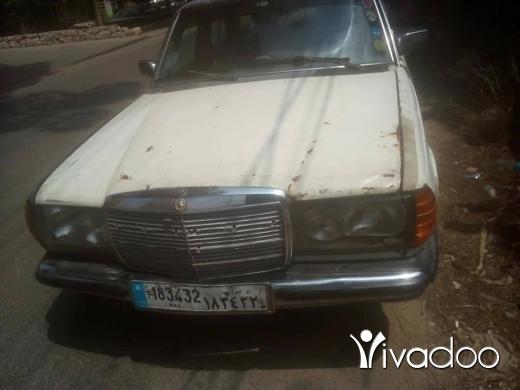 Mercedes-Benz in Akkar el-Atika - مرسيدس لف انقاض مازوت
