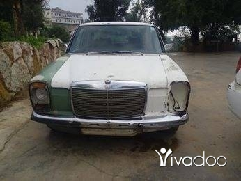 Mercedes-Benz in Akkar el-Atika - مرسيدس قطش موديل 74 أنقاض خرج نفض سيارة بعدا كيان