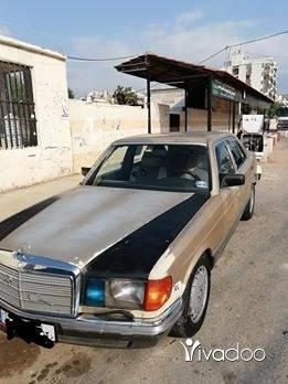 Mercedes-Benz in Tripoli - 280صندوق500موتيرمازوت6روس حديث موديل81موتيرفيتاس ميكانيك توب ولاخبطه ولارنه فيا