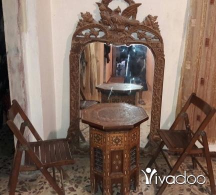آخر في طرابلس - قطع انتيك مراي زاءد طاوله وكرستين