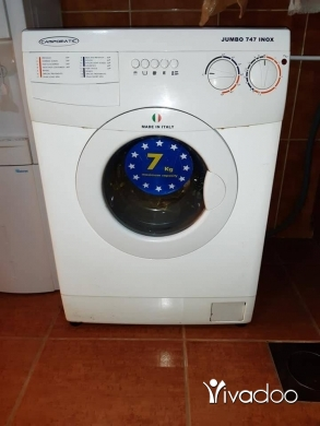 Washing Machines in Port of Beirut - براد Toshiba وغسالة كمبوماتيك ٧ كيلو وغاز Glem Gas