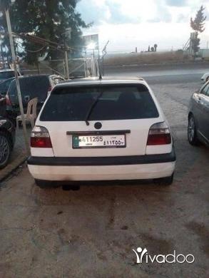 Volkswagen dans Beyrouth - Golf