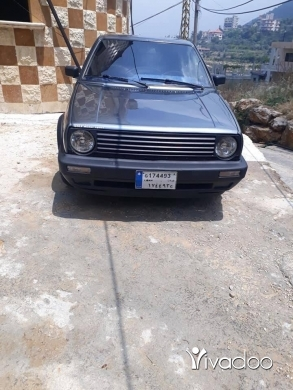 Volkswagen in Akkar el-Atika - golf