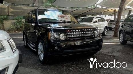 Rover in Beirut City - Range rover sport HSE LUX 2012 black