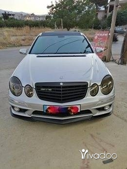 Mercedes-Benz in Zahleh - مرسيدس بنز E500