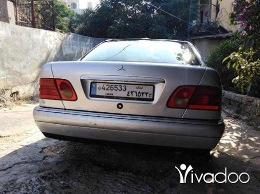 مرسيدس بنز في طرابلس - ام عيون مودال ٩٧ فول ابشن فرش جلد اسود
