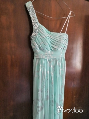 Dresses in Tripoli - Cyan Evening dress