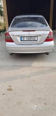 Mercedes-Benz in Tripoli - E350 2006 top silver aleb black
