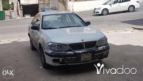 Nissan in Tripoli - نيسان صني موديل ٢٠٠٢