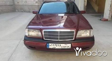 Mercedes-Benz in Tripoli - مرسيدس 180 سي موديل 96