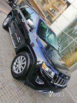 Jeep in Beirut City - GRAND CHEROKEE 2014 V6 LIMITED 4X4 اسود اسود شركه بالورق