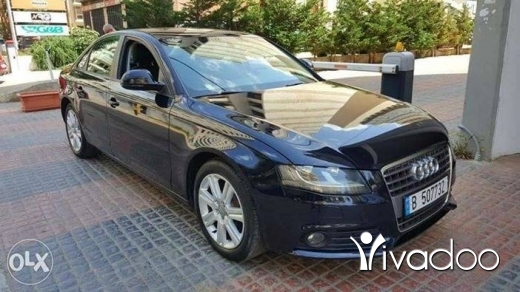 Audi in Beirut City - A4(2009