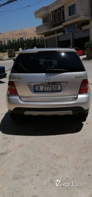 Jeep in Beirut City - Ml 350