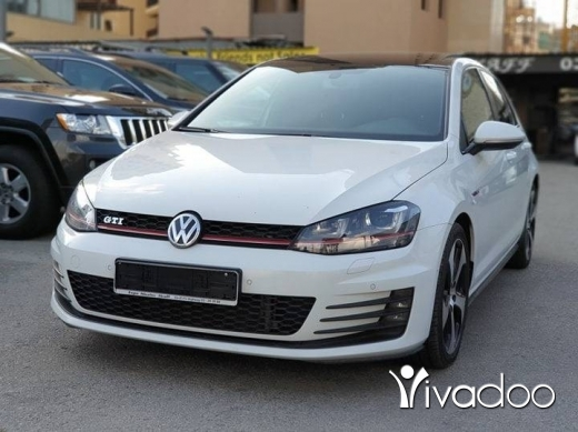 Volkswagen in Port of Beirut - GTI MK7