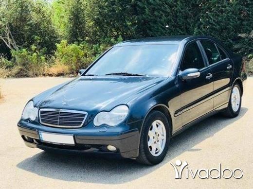 Mercedes-Benz in Beirut City - Mercedes C200 Model 2002 - Sherkeh lebneniyeh - كتير نضيفة