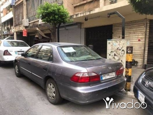 Honda in Beirut City - Honda Accord- 2002- 4 cylinders-