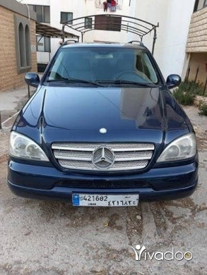 Mercedes-Benz in Tripoli - ML 320 2001