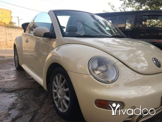 Volkswagen in Port of Beirut - Beetle 2004 kashef
