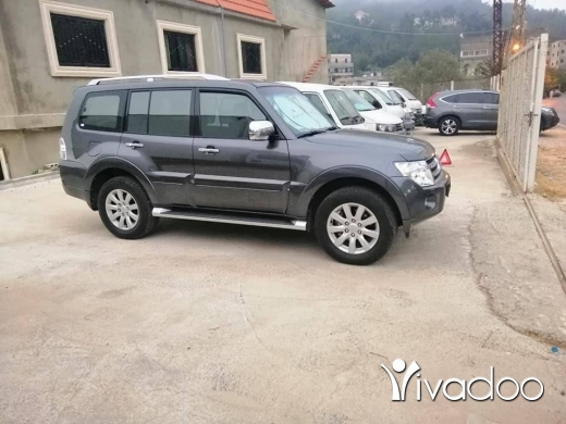 Mitsubishi in Port of Beirut - Pajero 3.8 liter 2011