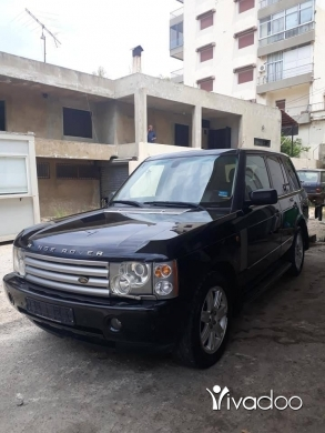 Rover in Port of Beirut - Range rover vogue hse 2005