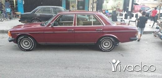 Mercedes-Benz in Tripoli - Mercedes 230 model 79 mazout 5 rous 2anounyeh