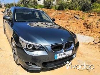 BMW in Tripoli - Bmw E60 look M5 . 2004