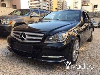 Mercedes-Benz dans Tripoli - C 180 Model 2012 full شركه لبنانيه