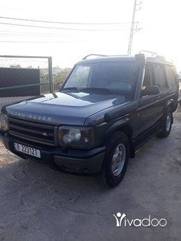 Land Rover in Tripoli - Land rover discovery 2001 .