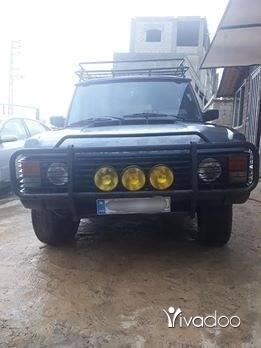 Rover in Tripoli - Range rover 88 . Moteur 3.9