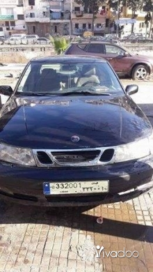 Volvo in Tripoli - سيارة Saab فولفو موديل 2002 انقاض اوتوماتيك فول اوبشن كهربا ومركزي 4 سليندر سيارة نضيفة